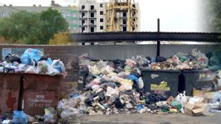 Завалы мусора в Челябинске