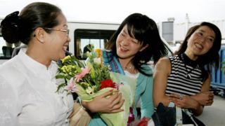 Japanese tourist in Vietnam