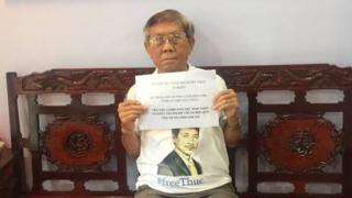 Cha của ông Trần Huỳnh Duy Thức và yêu cầu chính quyền Việt Nam trả tự do cho con trai