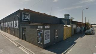 Hangar 34 Club, in Greenland Street