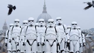 Stormtroopers in London