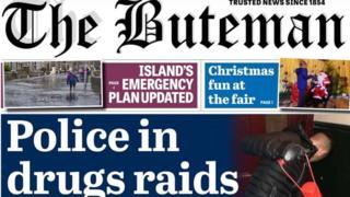 The Buteman newspaper