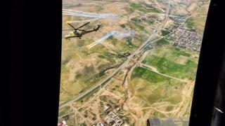 الموصل من السماء: دليل على استخدام تنظيم الدولة الإسلامية لدروع بشرية