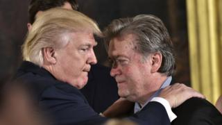 Trump ve Bannon