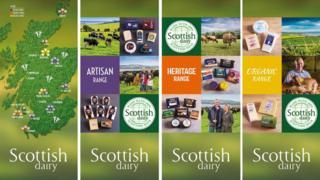 Scottish Dairy brand banner