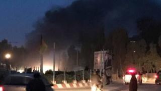 یکی از شاهدان عینی به بیبیسی گفت که چهار عضو خانواده او در این انفجار کشته شدند