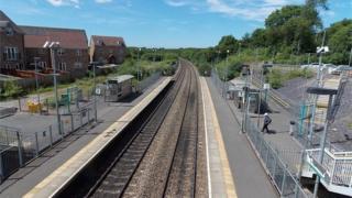 Llanharan railway station