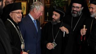 Принц Чарльз на встрече со священнослужителями разных конфессий
