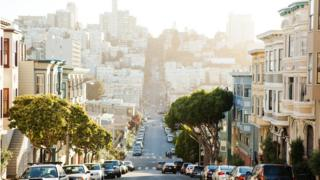 Street view of San Francisco