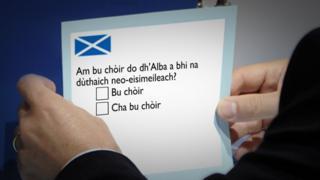 Gàidhlig san referendum