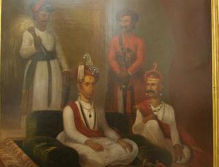 పూణేలో పేష్వా సామ్రాజ్యపు పెయింటింగ్