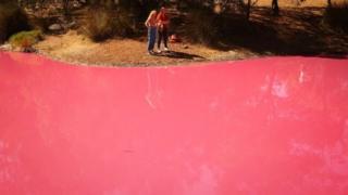 Fenomena yang sama dapat dijumpai di danau-danau merah muda lainnya di Australia, Spanyol, Kanada, dan Senegal