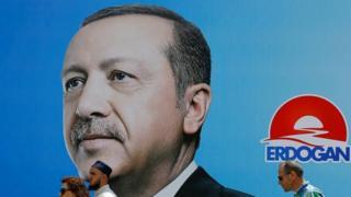 Recep Tayyip Erdoğan posteri