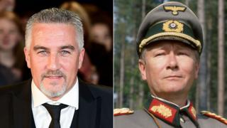 Paul Hollywood and Allo Allo general