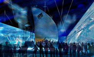 Artist impression of Arctic Corsair attraction