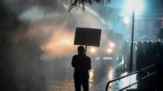 Протесты в Албании