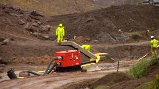 Work to alleviate flooding