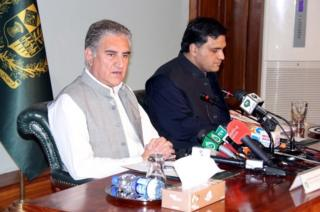 شاه محمود قریشی، وزیر امورخارجه پاکستان
