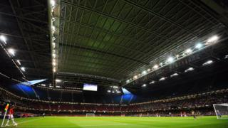 The Principality Stadium roof was closed during the 2012 Olympic Games