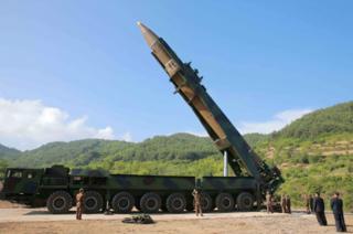 ขีปนาวุธเกาหลีเหนือ