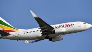 File photo taken on November 28, 2017 showing an Ethiopian Airlines Boeing 737