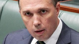 Australia's Immigration Minister Peter Dutton