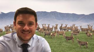 Powys County Councillor James Evans