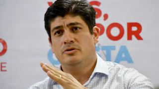 Carlos Alvarado, el nuevo presidente de Costa Rica.