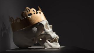 Череп в короне