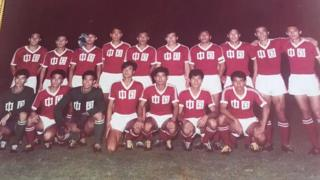 Chinese men's football team in 1980s