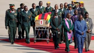 Mr Mugabe's body will be taken to his family home in Harare