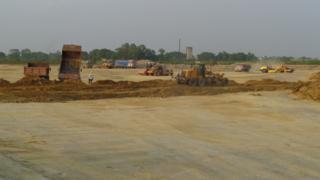 निर्माणाधिन गौतमवुद्ध विमानस्थल