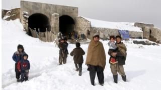 Лагерь беженцев под Кабулом
