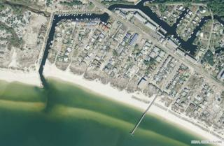 Mexico Beach City Pier, satellite image taken before Hurricane Michael
