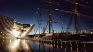 RRS Discovery and the V&A museum