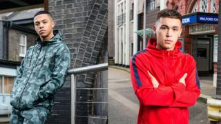 Keegan played by Zack Morris and Shakil played by Shaheen Jafargholi