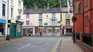 Castle Street, Llangollen