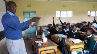 Kenyan teacher and Franciscan friar Peter Tabichi