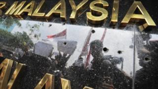 protes Malaysia
