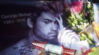 George Michael tribute in Goring