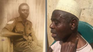 77 year old retired sergeant Ibrahim Umar