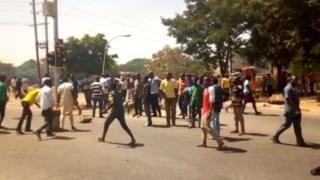 Zanga-zanga a Abuja