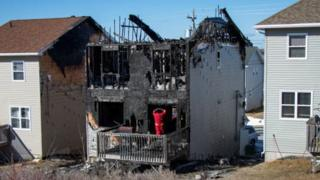 Seven children were killed in the fire