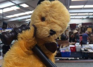 Sooty with gavel