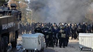 Bolqarıstanın ən böyük qaçqın düşərgəsində qaçqın və polis arasında toqquşma baş verib