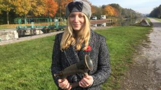 Grace Freeman from the Wilfred Owen Association