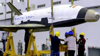 Prototype of Indian reusable rocket