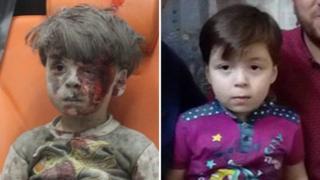 ภาพของเด็กชายออมรันนั่งอยู่บนรถพยาบาล ทำให้ผู้คนทั่วโลกออกมาแสดงความเห็นใจ