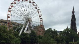Ferris wheel Pic: Brian Innes