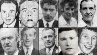 Ten men died after gunmen ambushed their minibus in 1976